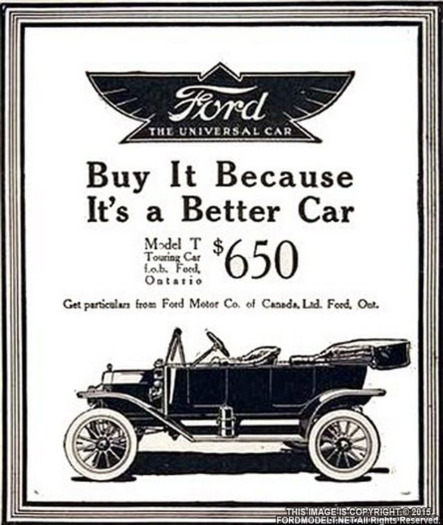 The Model T Was Invented By Henry Ford First Ts Were Coming Out Of Factories In 1908 But Got More Popular Throughout 1920s