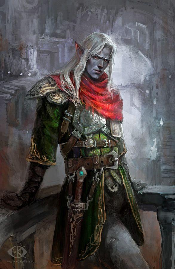Image result for fantasy pictures of make Dark Elves