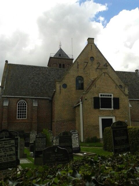Church in Oosterend,Island of Texel the Netherlands.