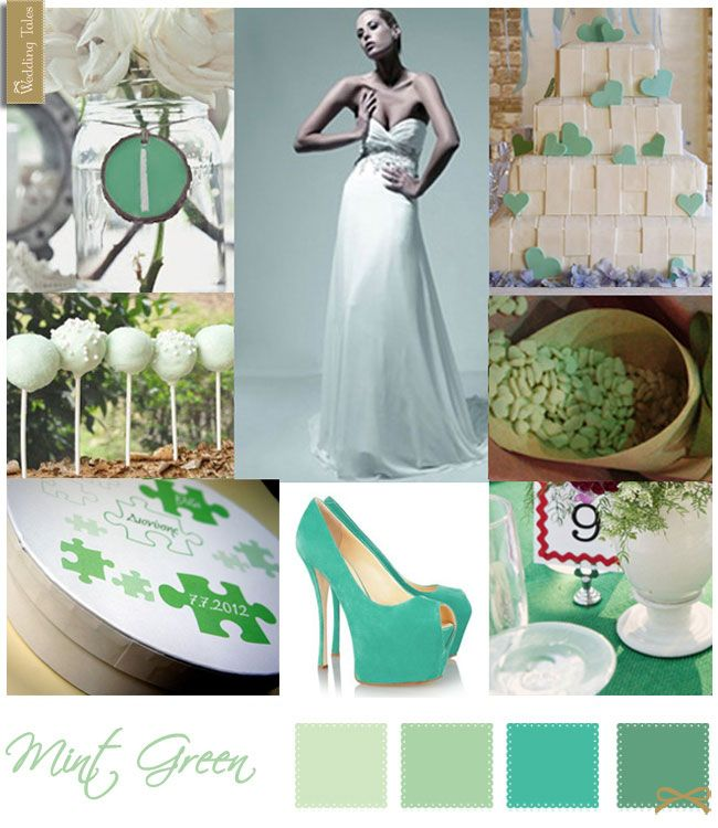 Wedding Moodboard | Mint Green