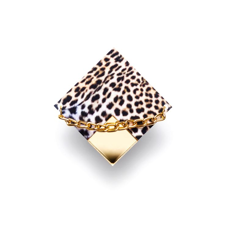 Suzywan DELUXE New Collection! Safari Leopard 2 finger ring http://shop.suzywan.com