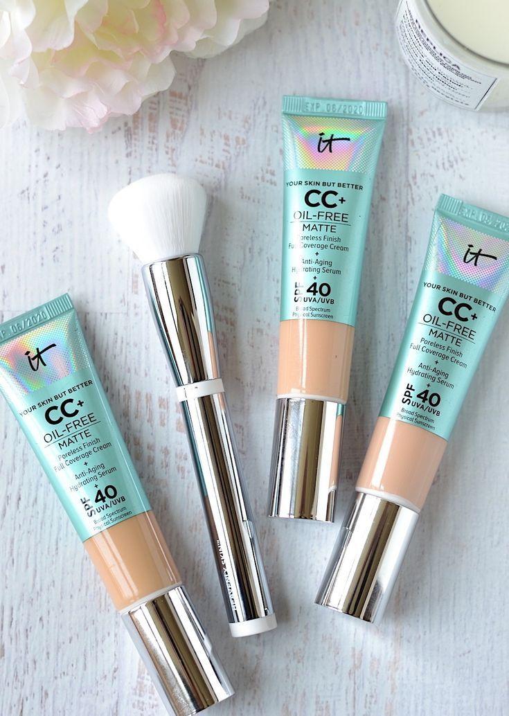 Make It Matte It Cosmetics Oil Free Matte Cc Cream Spf 40 Bb Cream For Oily Skin Cream For Oily Skin Cc Cream