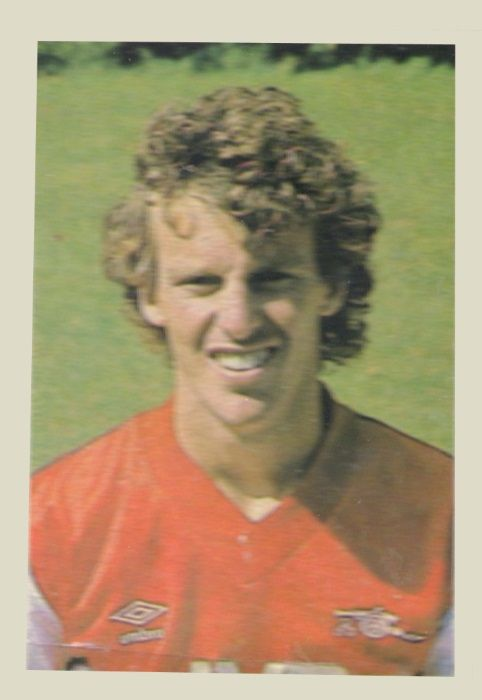 Graham Rix (Arsenal) - Midfielder. Age 25. Born in Doncaster. Another of Arsenal's world class players who joined Arsenal in 1974 as an apprentice. Signed professional forms in 1975. Has been capped for England and was one of the main members of the England squad during the World Cup in Spain. Ht. 5.9 Wt.11.0.
