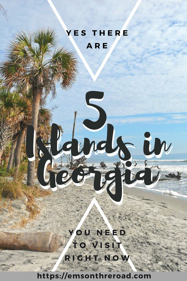 Craving an island adventure but don't want to leave the United States? You don't have to. Just head to the Southeast and check out these five islands in Georgia that you need to visit.