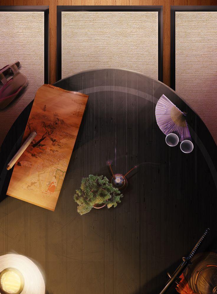 Samurai's Promise Poker Table (BBP)