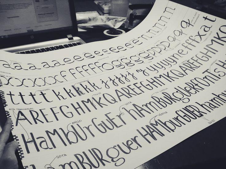 trabajo tipografía