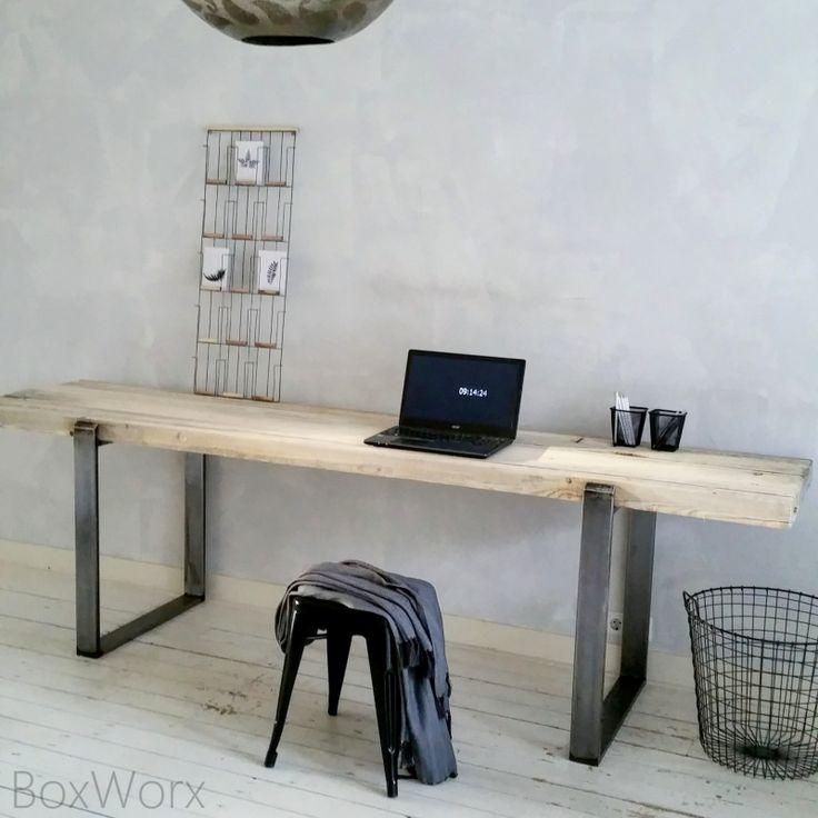 Werktafel op maat - www.boxworx.nl Deze ook stoer!