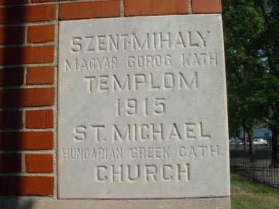 St. Michael's History :: Saint Michaels Byzantine Catholic Church