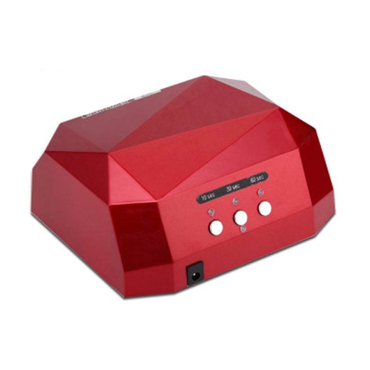 36W LED Lamp Nail Dryer Diamond Shaped LED Nail Lamp Curing for UV Gel Nails Polish Nail Art Tool Sun led light