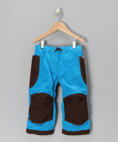 Sky & Brown Kuu Pants - Infant, Toddler & Boys by finkid