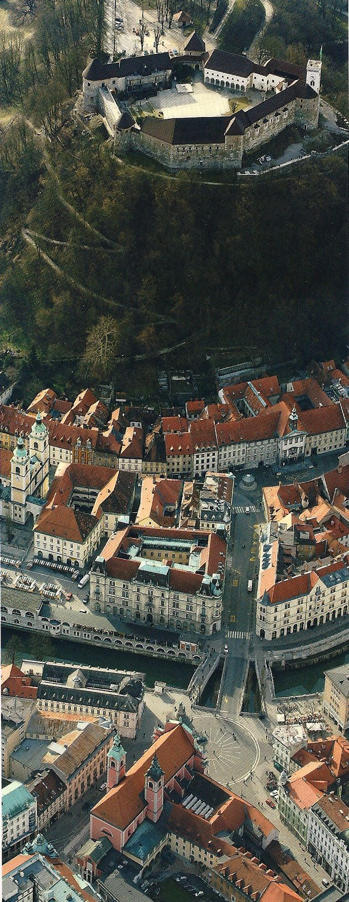 Ljubljana, Slovenia. One of Europe's smallest capitals.
