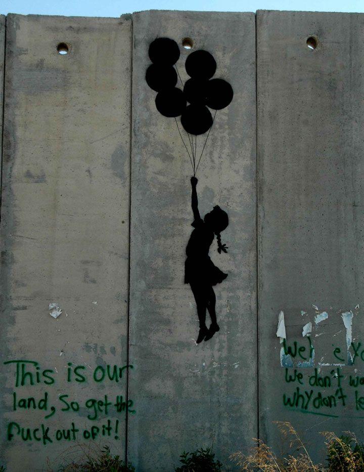 80 oeuvres de l'artiste Banksy qui vous feront voir le monde d'une autre façon