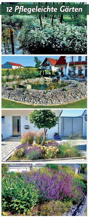 Wer bei der Gartenplanung einige Dinge beachtet, muss nach dem Anlegen des Gartens nicht mehr viel Pflege in die Erhaltung stecken. Wir zeigen 12 verschiedene Versionen pflegeleichter Gärten, die du auch miteinander kombinieren kannst.