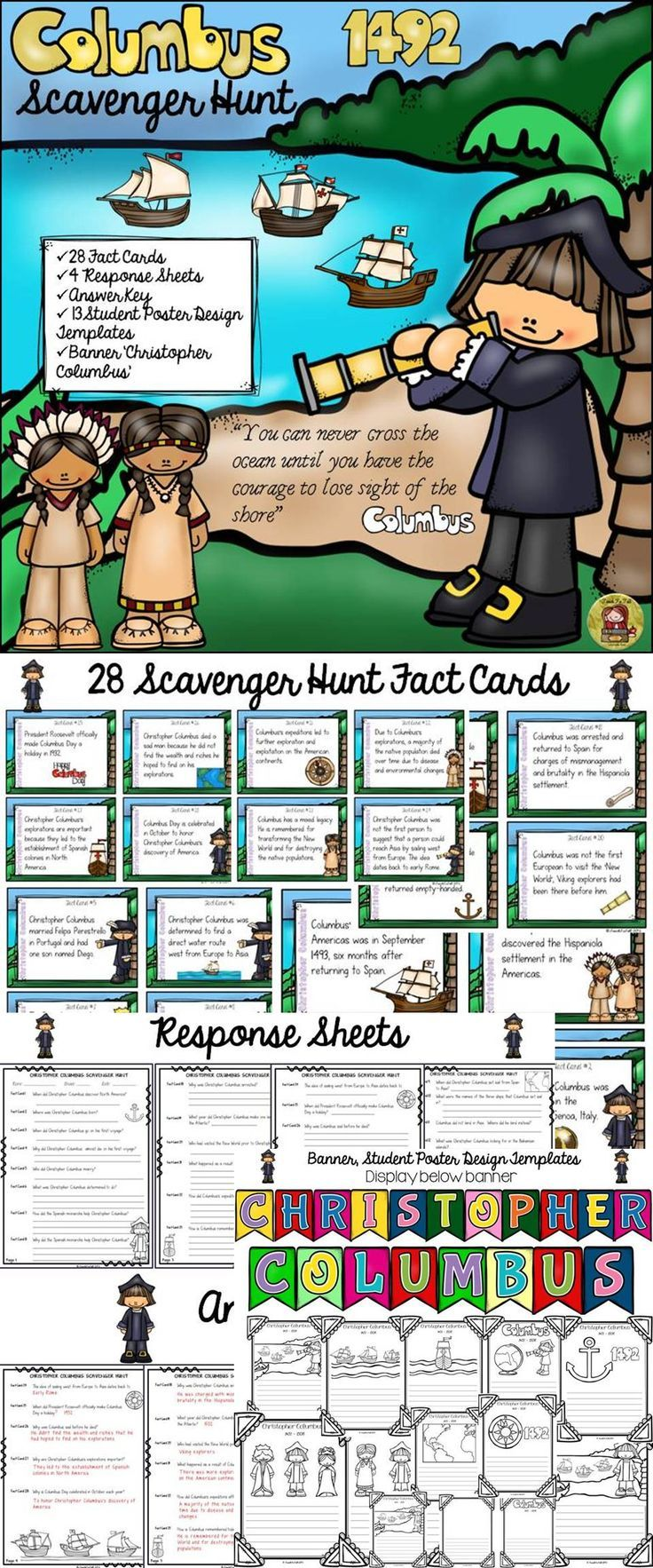 online shopping clothes in bangladesh Your students will love knowing about Christopher Columbus with this exciting Scavenger Hunt   The 28 facts cards  4 response sheets  and 13 student poster design templates will make learning about Christopher Columbus not just fun  but also meaningful  https   www teacherspayteachers com Product CHRISTOPHER COLUMBUS SCAVENGER HUNT FACT CARDS BANNER POSTER TEMPLATES 2121033