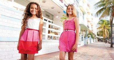 vestidos para niñas de 11 años rosados