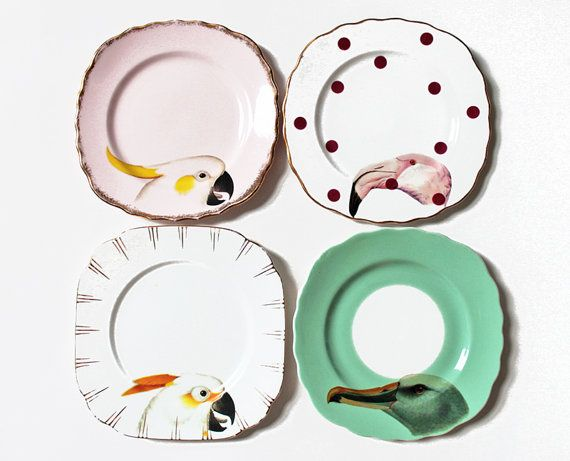 Beautiful Birds plate set