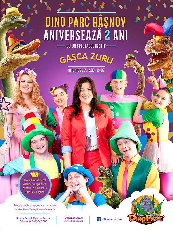Dino Parc Rasnov aniverseaza 2 ani alaturi de Gasca Zurli