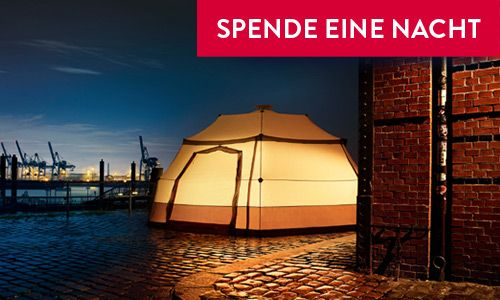 MORE THAN SHELTERS => jetzt in der Superbude St. Georg