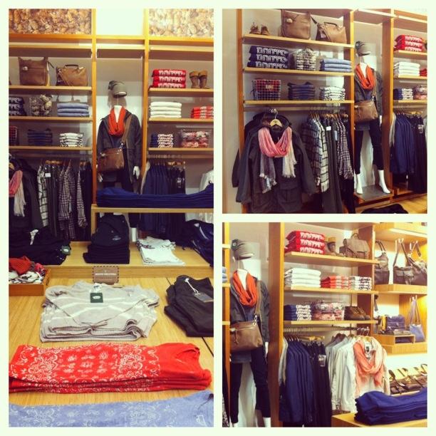 #RootsCanada Spring 2013 display at #Store150 - by Aleks R & I