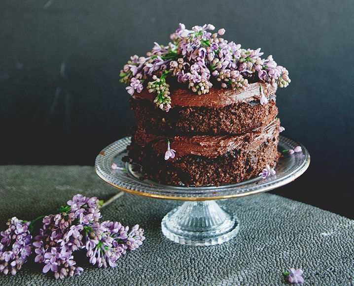 Don't miss this recipe for chocolate cake from Sweet Laurel Bakery. Did we mention the vegan chocolate ganache frosting? Yum.