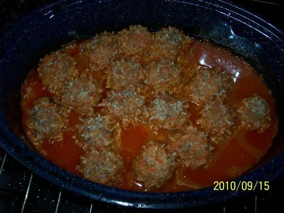 You can make the meatballs ahead of time and freeze.  Then simply remove from the freezer, add the remaining ingredients and bake.  Double this recipe for a buffet company meal or camping trip.  So easy to make as there's no need to brown the meatballs in the skillet—saves time and bother.