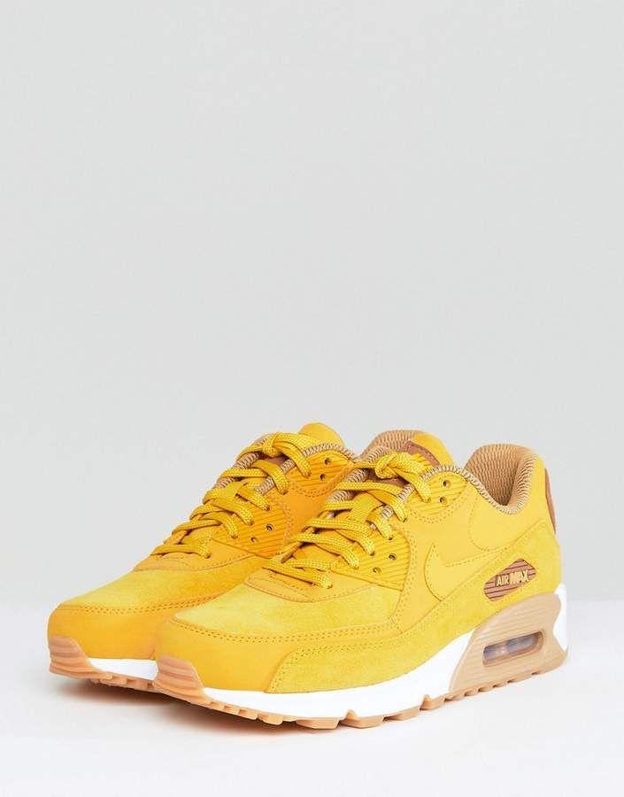 air max 90 femme jaune