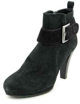 Gerry Weber Liliana 12 Round Toe Leather Ankle Boot.