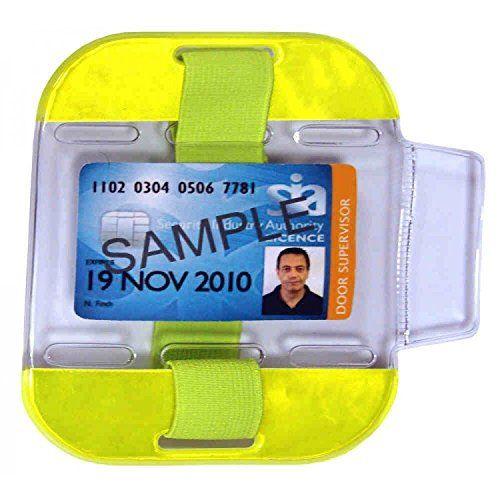 sia badge holder armband
