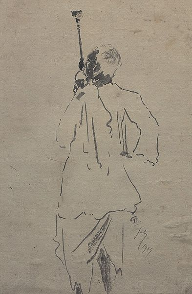 Gaganendranath Tagore Works On Paper.