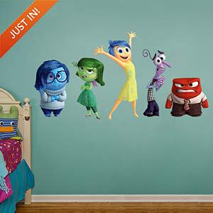 Inside Out Collection Fathead Wall Decal