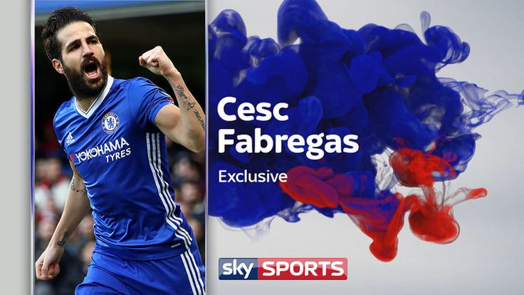 nice Cesc Fabregas says he is '100 per cent' staying at Chelsea | Football News Check more at https://epeak.info/2017/02/25/cesc-fabregas-says-he-is-100-per-cent-staying-at-chelsea-football-news/