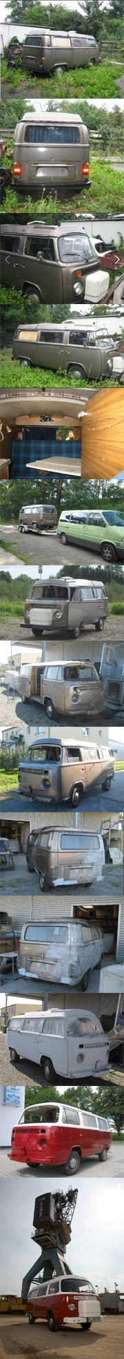 my vw bus t2 1973 and how it gets more and more beautiful