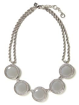 Gumdrop Necklace   Banana Republic - recently purchased.