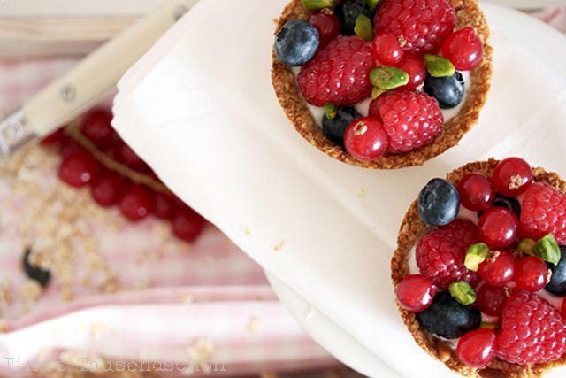 Tina's Tausendschön: Healthy Breakfast! Müslischalen mit Beeren