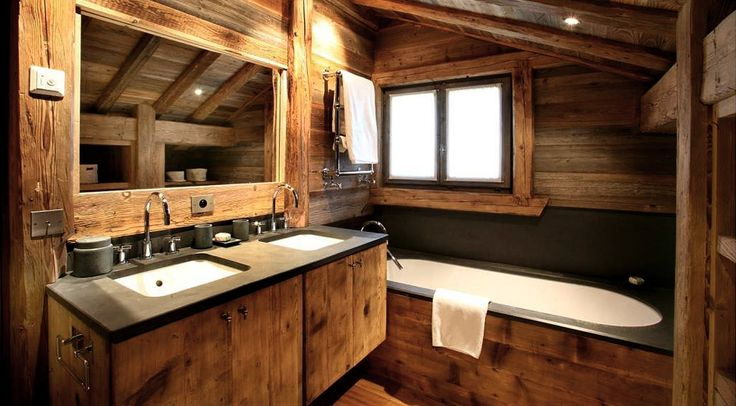 Luxury ski accommodation in a large traditional chalet in famous Courchevel