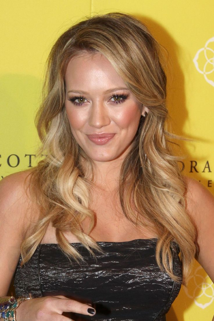 Hilary Duff's hair length