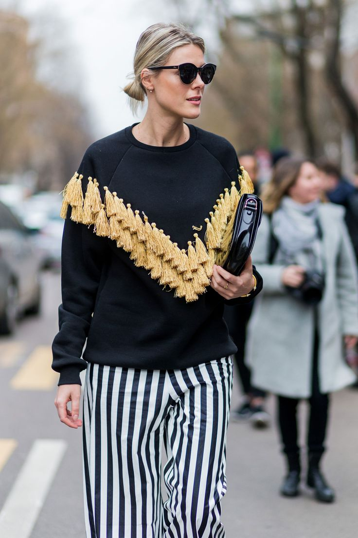 Milan Fashion Week street style - HarpersBAZAAR.co.uk