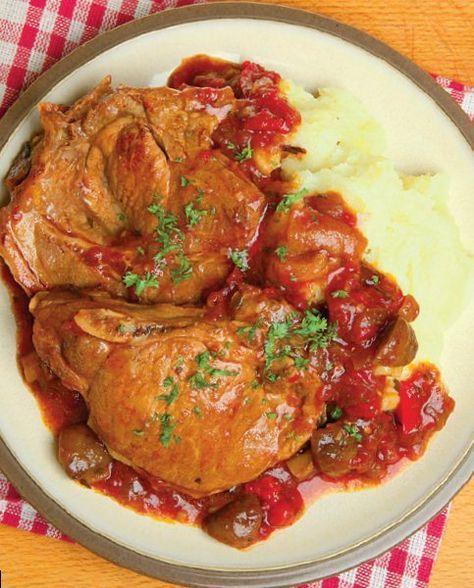 Avem o friptură de porc în sos...ceva de vă veți linge degetele! Iese atât de fragedă friptura asta...