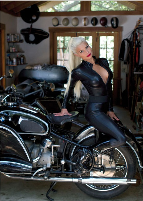 Motorcycle Girl 060 ~ Return of the Cafe Racers