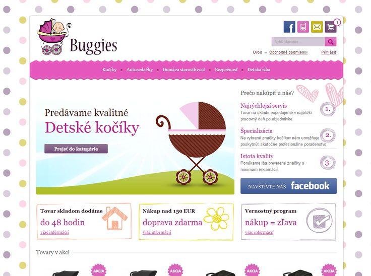 Internetový obchod s kočárky a dětskými autosedačkami.