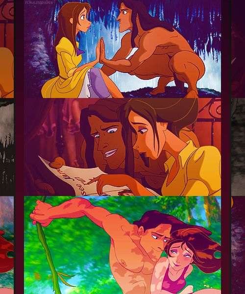 """""""come take my hand it will be alright..."""" man now i want to go watch tarzan lol love that movie ;D"""
