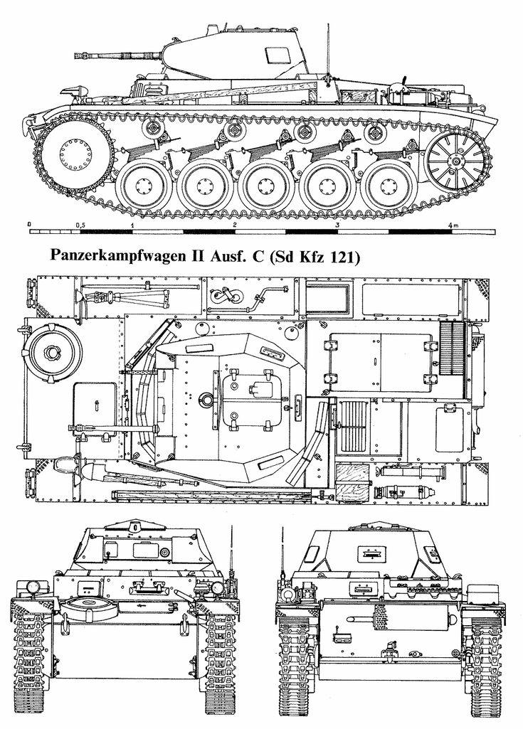 Panzer II blueprint