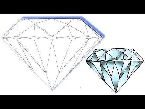 Les 25 meilleures id es de la cat gorie dessin de diamant - Diamant dessin ...