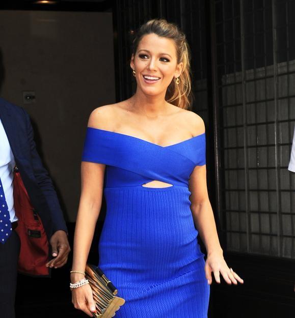 Wunderschön schwanger: Blake Lively bezaubert mit Babybauch - Die Schauspielerin und Ehemann Ryan Reynolds erwarten ihr zweites Kind