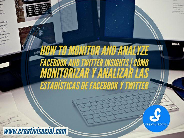 Facebook and Twitter Analytics