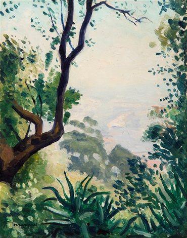 Vue d'Alger depuis Mont-Riant par Albert Marquet