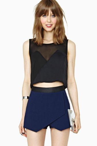 Nasty Gal Mixer Crop Top