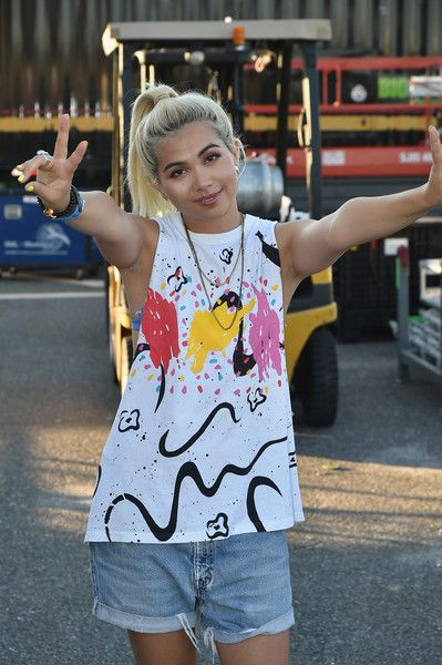 Hayley Kiyoko Photos - Hayley Kiyoko poses backstage during the 2016 Billboard Hot 100 Festival - Day 1 at Nikon at Jones Beach Theater on August 20, 2016 in Wantagh, New York. - 2016 Billboard Hot 100 Festival - Day 1