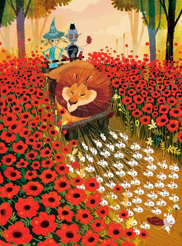 Sleeping Poppy Fields