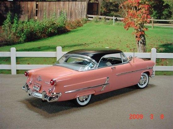 1953 ford 2 door hardtop diorama photo shoots for 1953 ford crestline victoria 2 door hardtop